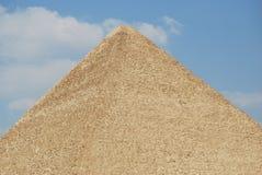 Great pyramid of Giza stock photography