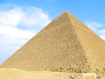 Great Pyramid of Giza. The Great Pyramid of Giza near Cairo, Egypt Stock Photos