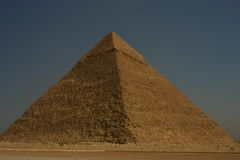 Great pyramid. Of Giza Stock Photography