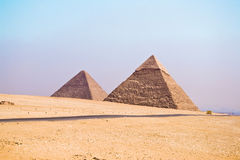 Great Pyramid of Giza. Pyramids of Giza at Egypt Royalty Free Stock Image