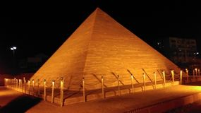 The great pyramid of giza. This building in egypt Stock Images