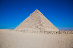 The Great Pyramid of Giza. In Cairo Royalty Free Stock Image