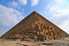 Great Pyramid of Giza. Egypt Stock Photos