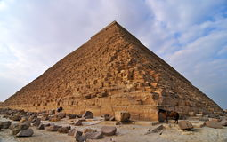Great Pyramid of Giza. Egypt Royalty Free Stock Photos