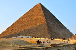 Great Pyramid of Giza. Egypt Royalty Free Stock Photo