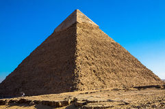The Great Pyramid at Giza, Egypt Royalty Free Stock Photography