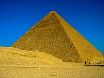 The Great Pyramid at Giza, Egypt. This is a picture of The Great Pyramid at Giza, one of the wonders of the world. December 13th 2007, Giza, Cairo, Egypt Stock Photos