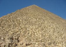 The Great Pyramid of Giza. Or the Pyramid of Khufu or the Pyramid of Cheops, Cairo, Egypt Stock Images