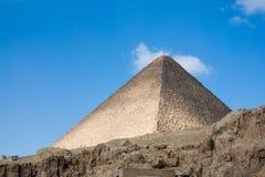 Great Pyramid at Giza Plateau Stock Photos