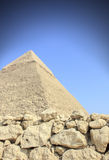 Great Pyramid of Giza Stock Photo