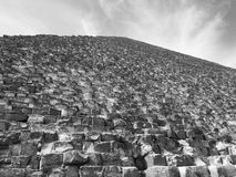 The Great Pyramid of khefre at Giza Stock Images