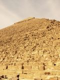 The Great Pyramid of khefre at Giza. Egypt Stock Photo