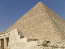 Great Pyramid of Khufu Stock Photos