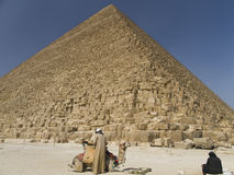 Great Pyramid of Khufu Stock Image