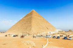 The Great Pyramid of Khufu at Giza Royalty Free Stock Image