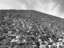 The Great Pyramid of Khufu at Giza Stock Photography