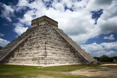 Great pyramid of Mayan city Chichen Itza Royalty Free Stock Image