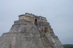 Great Pyramid of Uxmal Yucatan. Mexico Royalty Free Stock Photos