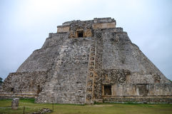 Great Pyramid of Uxmal Yucatan Royalty Free Stock Images