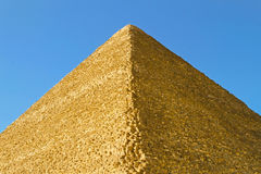 Great pyramide edge Royalty Free Stock Photo