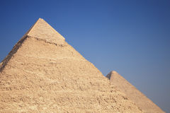 The Great Pyramids. The great ancient Pyramids in Giza, near Cairo (Egypt Stock Images
