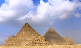 Great Pyramids Stock Image