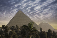 The Great Pyramids Royalty Free Stock Image