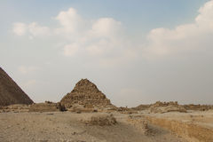 Great Pyramids of Giza, Cairo, Egypt Royalty Free Stock Image