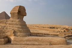 Great Pyramids of Giza, Cairo, Egypt Stock Photos