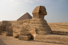 Great Pyramids of Giza, Cairo, Egypt Stock Image