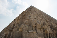 Great Pyramids of Giza, Cairo, Egypt Stock Photography