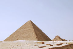The great pyramids of giza in Egypt Stock Photo