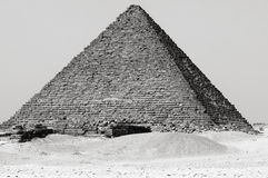 The Great Pyramids in Giza Stock Image