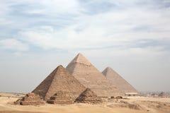 Great pyramids. Of Giza, Cairo, Egypt stock photos