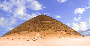 Great pyramyd of Dashur royalty free stock photography