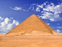 Great pyramyd of Dashur royalty free stock image