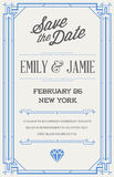 Great Quality Vintage Style Invitation. Great Quality Style Invitation in Art Deco or Nouveau Epoch 1920's Gangster Era Vector Royalty Free Stock Photos