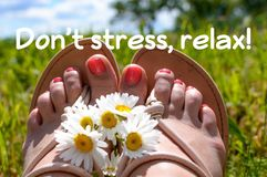 Do not stress, relax quote, super quality abstract business picture. Great quality work. On this picture you can see some business abstraction. Great to use for stock photography