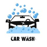 Car hand wash service super quality graphic style educational poster. Great quality work. On this picture you can see some high quality and resolution  graphic Royalty Free Stock Image