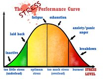 Stress performance curve visual chart. Great quality work. On this picture you can see some high quality and resolution graphic creative ideas concept sticker stock illustration