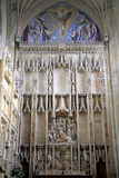 The Great Quire, priory church, Christchurch. Stock Photography
