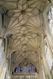 The Great Quire roof, Priory, Christchurch. Royalty Free Stock Image