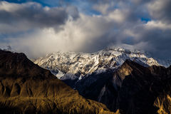 The Great Rakaposhi Pakistan stock image