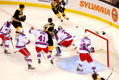 Great Rangers Defense (New York NHL) Royalty Free Stock Images
