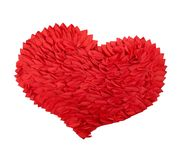 The great red paper heart Royalty Free Stock Photography