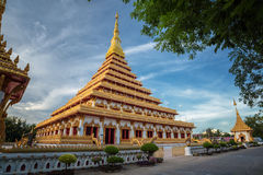 The great relics kaennakorn. This is the symbol of khonkaen northern east of thailand ,the great relics kaennakorn Stock Photos