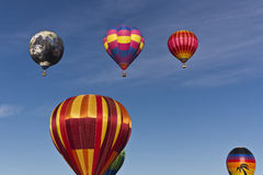 The Great Reno Balloon Race, Mass Ascension Stock Images