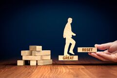 Free Great Reset In Post-covid Era Concept Royalty Free Stock Image - 213362176