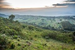 Great Rift Valley landscape, Kenya. Great Rift Valley landscape taken from Mouse Summit, Kenya Stock Photo