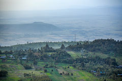 Great Rift Valley landscape, Kenya. Great Rift Valley landscape taken from Mouse Summit, Kenya Royalty Free Stock Photos